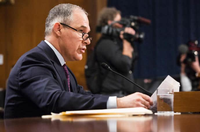 Almost no one in the G.O.P. seems to question the wisdom of putting Scott Pruitt, who doubts the reality of climate change, in charge of the environmental agency most associated with efforts to combat it.