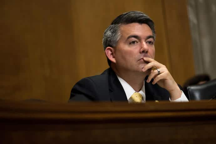 Senator Cory Gardner, of Colorado, declined to attend a town-hall meeting with constituents this week.