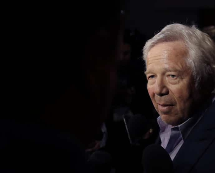 Robert Kraft's story is about the value of a team owner letting go and leaving the football decisions to the experts.