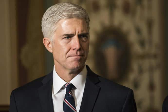 One notable person who has objected to some of the President's statements is Neil Gorsuch, Trump's nominee to replace Antonin Scalia on the Supreme Court.
