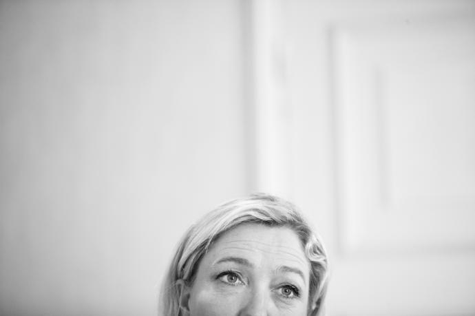 The recent surge of the French far-right leader Marine Le Pen is largely due to her ability to convince France's functionary class to embrace her.