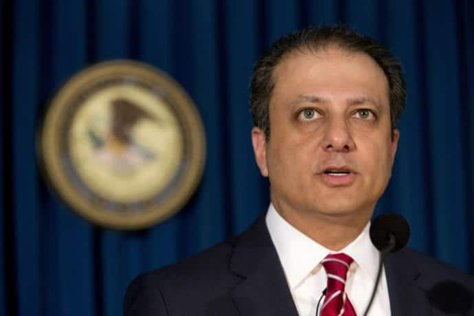 As the U.S. Attorney for the Southern District of New York, Preet Bharara was one of the most prominent prosecutors in the country, going after political corruption in New York State and Wall Street figures.
