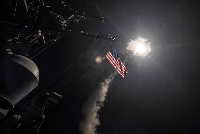 The moral case for President Trump's strike on Syria is uncontroversial. The strategic case for the strike is also clear. But was it legal?