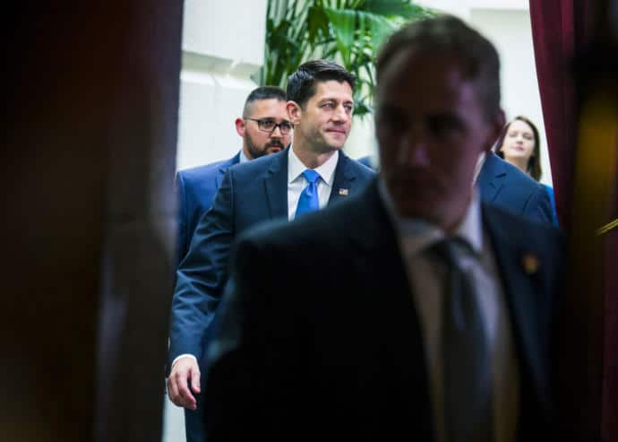 Paul Ryan, the House Speaker, pushed through a bill that, if it ever goes into effect, could upend one-sixth of the American economy and result in tens of millions of Americans losing their health coverage.