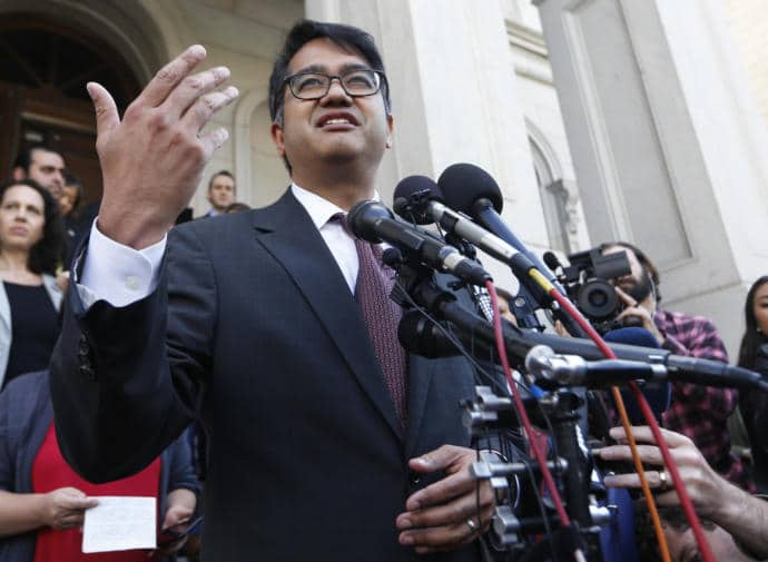 Omar Jadwat, the lawyer arguing against the ban, was less effective in explaining why the objections to this order, or to any ban that targeted Muslims, might be a problem independent of Donald Trump.