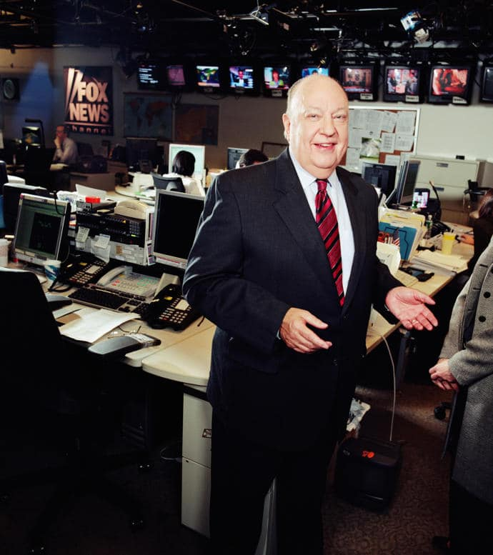 The former head of Fox News, Roger Ailes, who died Thursday, less than a year after his ouster from the network amid a wave of sexual-harassment allegations.