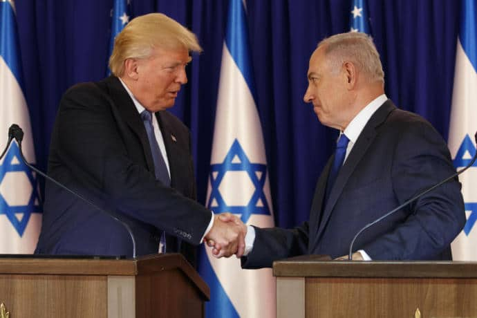 "What is the basis of optimism In Israel about Donald Trump? For many, it seems to be his apparent endorsement of an ""outside-in"" peace process."